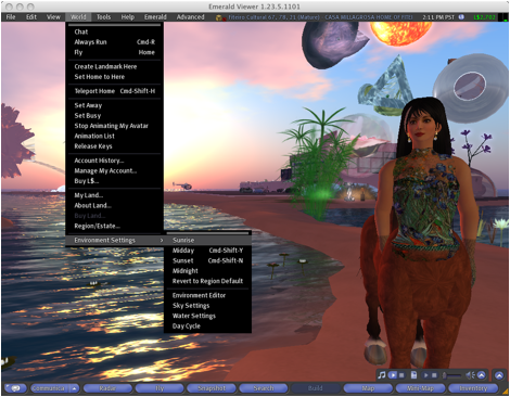 Virtual KinoEye: Kinetic Camera, Machinima, and Virtual